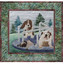 Doggone Dizzy - Pattern 5 Dog Park Complete Pattern Set by McKenna Ryan