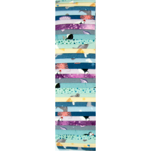 Underwater Nursery Rainbow aka Jelly Roll Sewing Buddies Australia