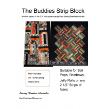 Buddies Strip Quilt Pattern Sewing Buddies Australia
