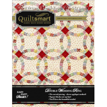 Double Wedding Ring - Twin Pack - by Quiltsmart Sewing Buddies Australia