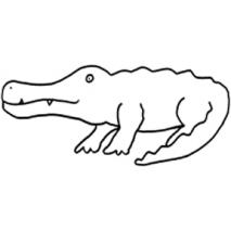 Alligator #30403 Sewing Buddies Australia