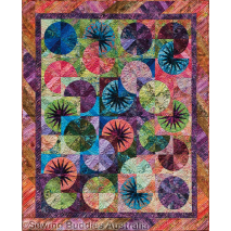 Bali Fever Quilt Pattern by Judy Niemeyer 2 Sewing Buddies Australia