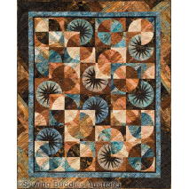 Bali Fever Quilt Pattern by Judy Niemeyer 3 Sewing Buddies Australia