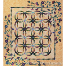 Flowers For My Wedding Ring Quilt Pattern by Judy Niemeyer 3 Sewing Buddies Australia