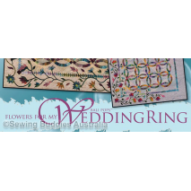 Flowers For My Wedding Ring Quilt Pattern by Judy Niemeyer 4 Sewing Buddies Australia
