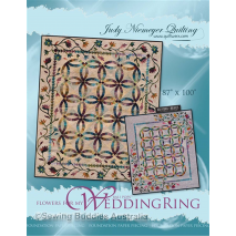 Flowers For My Wedding Ring Quilt Pattern by Judy Niemeyer Sewing Buddies Australia