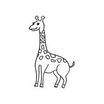Giraffe small #30378 Sewing Buddies Australia