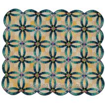 Grandma's Wedding Ring Quilt Pattern by Judy Niemeyer 2 Sewing Buddies Australia
