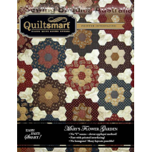 Mary's Flower Garden Twin Pack by Quiltsmart Sewing Buddies Australia