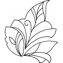 Modern Leaf #70001 Sewing Buddies Australia