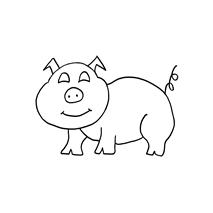Piggy, small #30381 Sewing Buddies Australia