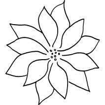 Poinsettia #30339 Sewing Buddies Australia