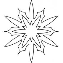 Snowflake in a Snowflake #30526 Sewing Buddies Australia