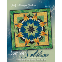 Summer Solstice Quilt Pattern by Judy Niemeyer 3 Sewing Buddies Australia