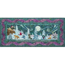 By The Light Of The Moon Pattern 03 Heaven and Nature Sings by McKenna Ryan