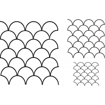 Clamshells, 3x #30566 Sewing Buddies Australia