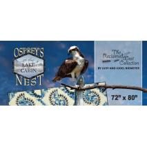 Ospreys Nest Banner by Judy Niemeyer