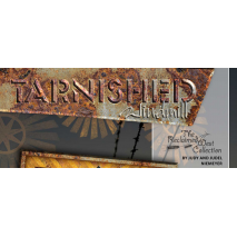 Tarnished Windmill Banner by Judy Niemeyer