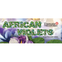 African Violet Placemat Banner