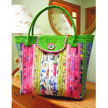 Anything Goes Bag by Aunties Two Patterns ~ Jelly Roll Friendly Sewing Buddies Australia