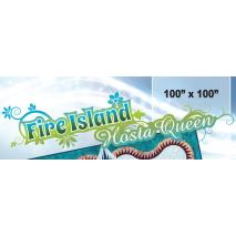 Fire Island Hosta Queen by Judy Niemeyer
