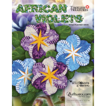 African Violets Pattern by Judy Niemeyer