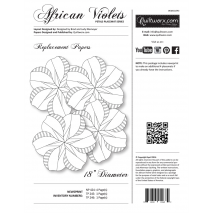 African Violets Replacement Papers Judy Niemeyer Sewing Buddies Australia