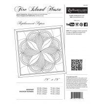 Fire Island Hosta Replacement Papers by Judy Niemeyer Sewing Buddies Australia