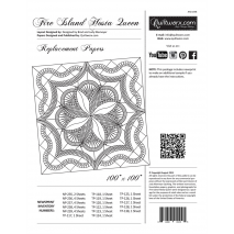 Fire Island Hosta Queen Replacement Papers Sewing Buddies Australia