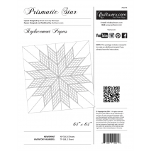 Prismatic Star Extra Foundation Papers by Judy Niemeyer Sewing Buddies Australia