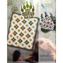 Rocky Mountain Bear Claw Quilt by Judy Niemeyer Sewing Buddies Australia