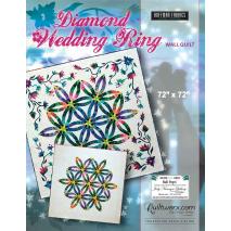 Diamond Wedding Ring Wall Quilt Pattern by Judy Niemeyer Sewing Buddies Australia