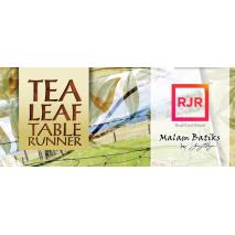 Tea Leaf Table Runner Pattern Judy Niemeyer 2 Sewing Buddies Australia