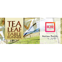 Tea Leaf Table Runner Extra Foundation Papers Judy Niemeyer 4 Sewing Buddies Australia