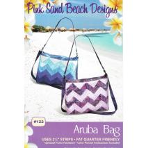 Aruba Bag by Pink Sand Beach Designs ~ Jelly Roll Friendly Sewing Buddies Australia
