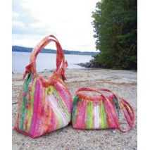 Bailey Island Hobo bag by Aunties Two Patterns ~ Jelly Roll Friendly Sewing Buddies Australia