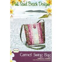 Carmel Swing Bag by Pink Sand Beach Designs ~ Jelly Roll Friendly Sewing Buddies Australia