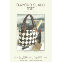 Diamond Island Tote Bag by Aunties Two Patterns ~ Jelly Roll Friendly Sewing Buddies Australia
