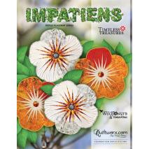 Impatiens Placemat Pattern Judy Niemeyer Sewing Buddies Australia