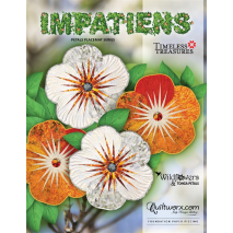Impatiens Placemat Extra Foundation Papers Judy Niemeyer 4 Sewing Buddies Australia