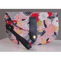 Leather Bag Flower Wrist Strap 2 Sewing Buddies Australia