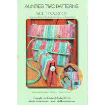 Soft Pockets bag by Aunties Two Patterns ~ Jelly Roll Friendly Sewing Buddies Australia