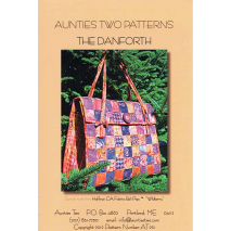 The Danforth Bag by Aunties Two Patterns ~ Jelly Roll Friendly Sewing Buddies Australia