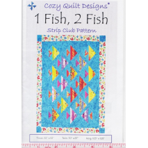 1 Fish 2 Fish Pattern by Cozy Quilt Designs Sewing Buddies Australia
