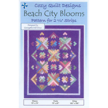 Beach City Blooms Pattern by Cozy Quilt Designs Sewing Buddies Australia