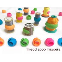 Peel Spool Huggers 12 pack 3 Sewing Buddies Australia