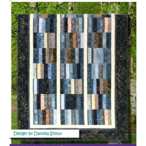 Blurred Lines Pattern by Cozy Quilt Designs - See Video Sewing Buddies Australia