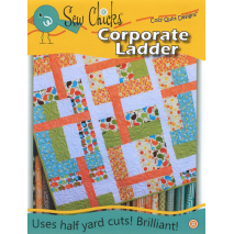 Corporate Ladder Pattern by Cozy Quilt Designs Sewing Buddies Australia