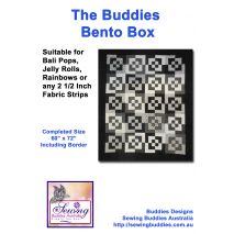 Buddies Bento Box Fabric Kit Pattern