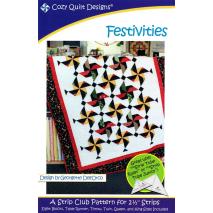 Festivities Pattern by Cozy Quilt Designs Sewing Buddies Australia